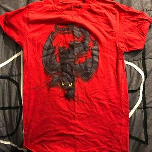 Toothless How To Train Your Dragon shirt